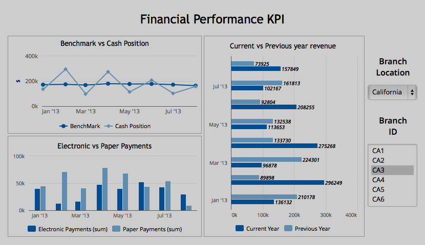 Financial Performance KPI